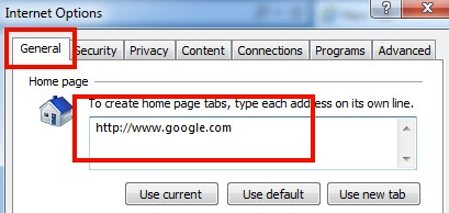 how to change internet explorer browser settings